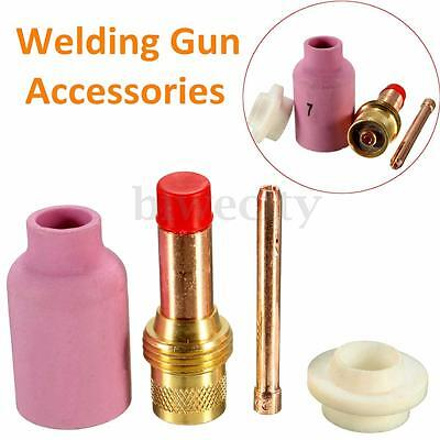 4Pcs TIG Gas Lens Kit Set For WP26 WP18 & WP17 Welding Gun Torch Accessories