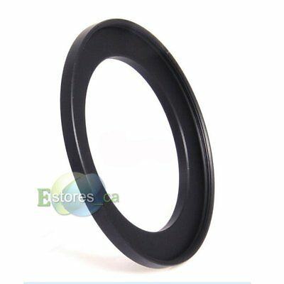 Black 52mm-58mm 52-58mm 52mm to 58mm Metal Step Up Lens Filter Ring Adapter