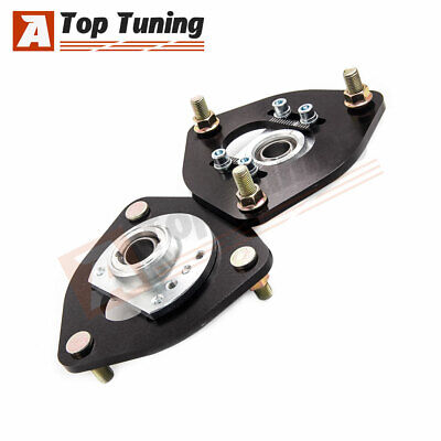 Front Coilover Camber Plate Top Mount For Nissan S13 S14 180SX 200SX 240SX CAC