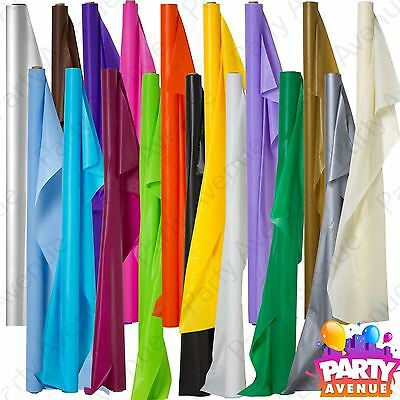 100ft Plastic Banquet Roll Party Wedding Catering Table Cover Cloth Amscan