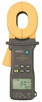 REED MS2301 Earth Resistance Clamp Meter, 0.01-1200?/100mA-20A