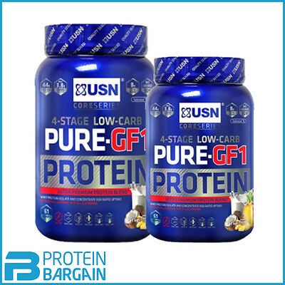 USN Pure GF1 4 Stage Lean Protein 1kg - 2.28kg 40 Servings ***SPECIAL PRICES***