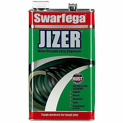 NEW Swarfega Jizer Water Rinsable Powerful Engine Parts Degreaser 5 Litres
