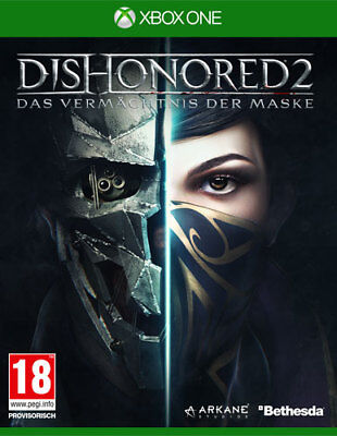 Dishonored 2 D1-Edition (XBox One) (NEU & OVP) (UNCUT) (Blitzversand)
