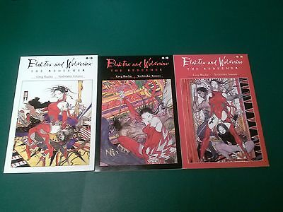 Elektra and Wolverine: The Redeemer 1-3 Complete Set - Marvel Comics - NM/VF