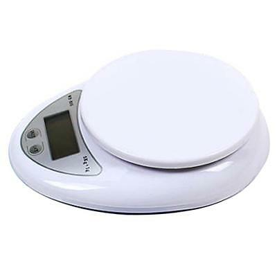 5kg/1g Kitchen Digital Scale LCD Electronic Balance Food Weight Postal Scales SS