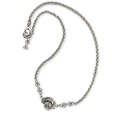 Lhasa Apso Ankle Bracelet Handmade Sterling Silver Dog Jewelry LSZ21-A