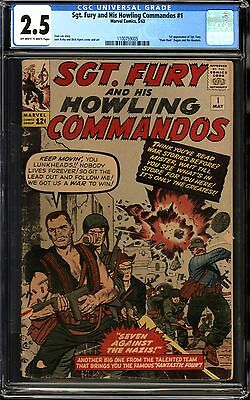 Sgt. Fury and His Howling Commandos #1 CGC 2.5