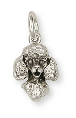Sterling Silver Poodle Charms Jewelry - d01hc