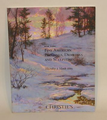 Christie's New York Auction Catalog 3 March 2005 Fine American Paintings 1488