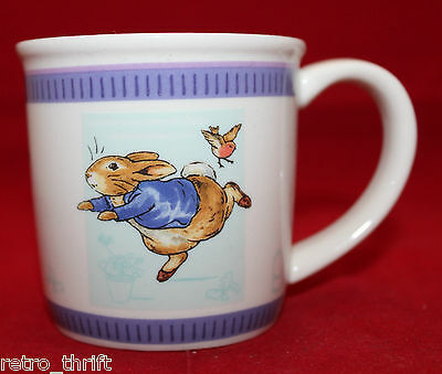 Wedgwood Peter Rabbit The World Of Beatrix Potter Children Coffee Tea Mug Cup