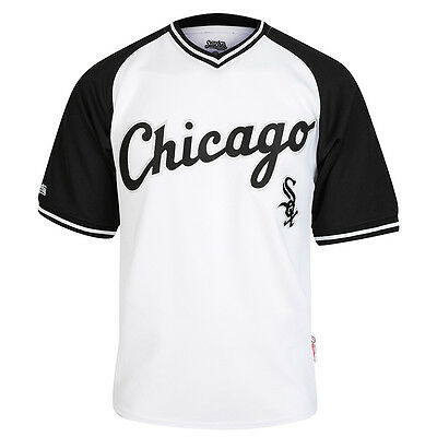Stitches MLB Chicago White Sox V-Neck Jersey