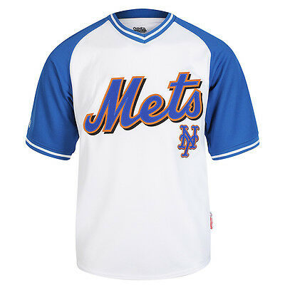 Stitches MLB New York Mets V-Neck Jersey