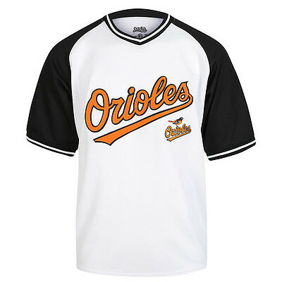 Stitches MLB Baltimore Orioles V-Neck Jersey