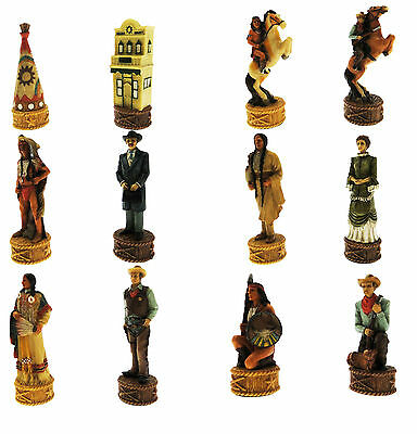 Complete Set by chess Cowboy against Indians