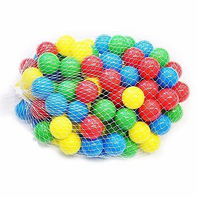 50pcs Multi-Color Cute Kids Soft Play Balls Toy for Ball Pit Swim Pit Ball Pool