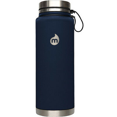 Mizu V12 W Stainless Steel Lid Unisexe Accessoire Gourde - Soft Touch Blue