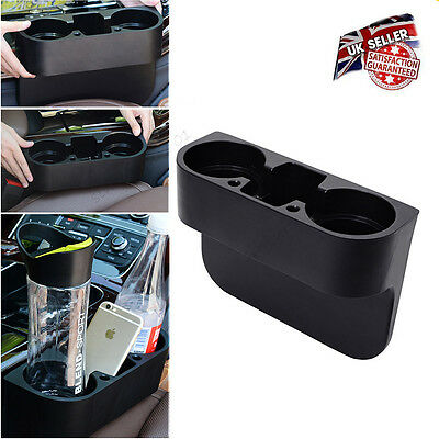 Vehicle Car Cup Cell Phone Drinks Bottle Holder Box Accessories Storage Stand UK