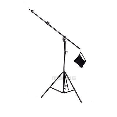 Multi Function Light Stand & Boom stand Double Duty w/ Sand Bag 395cm/13ft  M-2