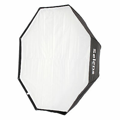 "Selens 120cm 47"" Octagon Umbrella Softbox Reflector For Studio Speedlite Flash"