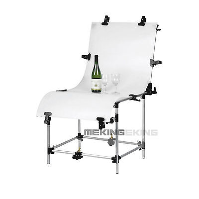 High Quality Studio Photo Shooting Table with Plexi Cover 60x130cm Background