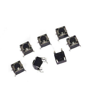 100x Tactile Push Button Switch Tact micro switch 6 * 6 * 4. 3mm 4pin DIP ON/OFF