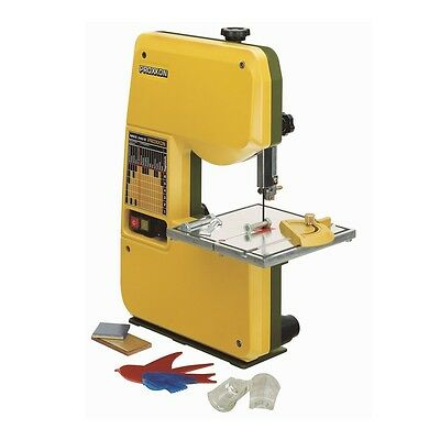 Proxxon 5.875-in 0.7-Amp Stationary/Fixed Band Saw Yellow Speed Control Cutting