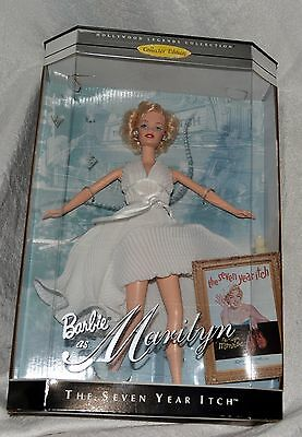 NEW in BOX Barbie Marilyn Monroe The Seven Year Itch Legends Collection 1997 NIB