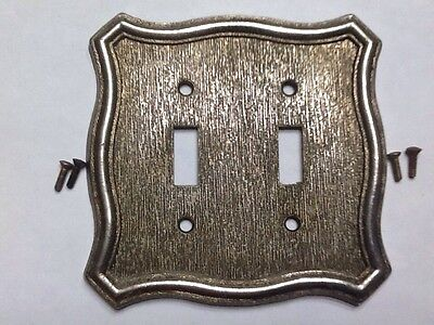 American Tack and Hardware & Hdwe 1968 Double light switch cover plate - 70TT