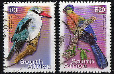 South Africa - #1194a + 1199a - Birds -  used