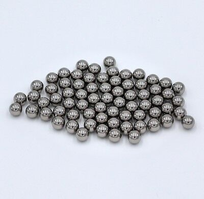 "10 Premium 1//8/"" Solid Steel Ball Bearing Loose G25 0.125 in // 3.1750 mm"