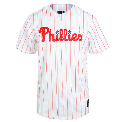 Majestic MLB Philadelphia Phillies Men's Replica Jersey – White