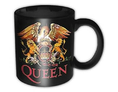 * Queen - Classic Crest Logo - Official Boxed Mug