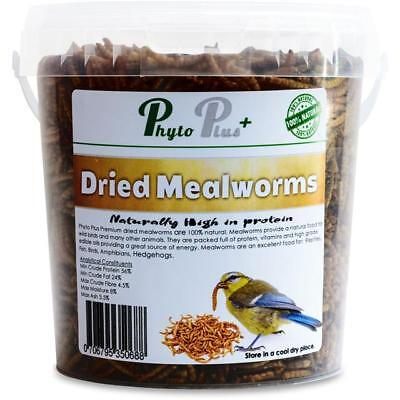 Phyto Plus Dried mealworms fish food koi pond - Bird food  All Sizes Top Quality