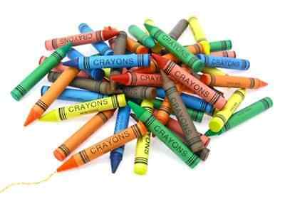 Bulk Pack of 72 High Quality Wax Crayons - Various Colours - eStore