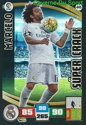 445 Marcelo Brazil Real Madrid Super Crack Card Adrenalyn Liga 2016 Panini