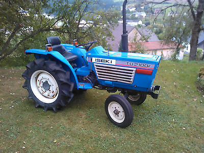 Micro Tracteur D'occasion Iseki 2100 2Rm