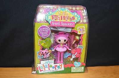 Mini Lalaloopsy Jewel Sparkles Silly Fun House #4 of Series 10 NIP