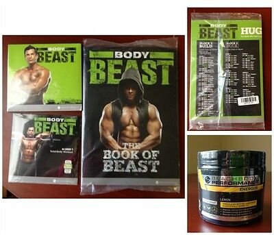 Beachbody Body Beast  Deluxe Workout Package With Energize Brand New Sealed