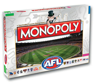 Monopoly AFL Board Game NEW