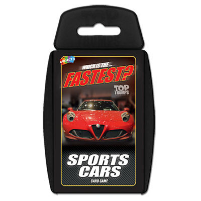 Top Trumps Sports Cars NEW