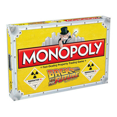 Monopoly Back to the Future Trilogy Edition Board Game NEW