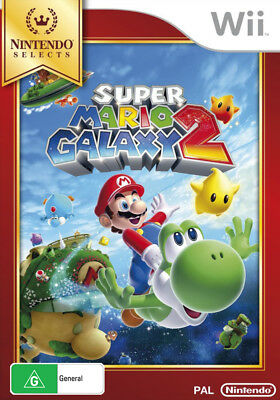 Super Mario Galaxy 2 Wii Game NEW