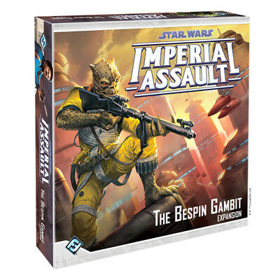 Star Wars Imperial Assault The Bespin Gambit Expansion Board Game NEW