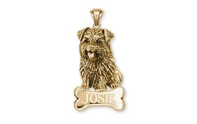 Norfolk Terrier Pendant Jewelry Gold Vermeil Norfolk Terrier Charms And Norfolk