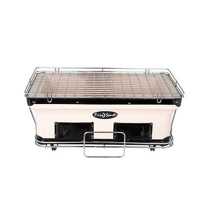 Fire Sense Charcoal Grill Large Yakatori  Japanese Table BBQ OutDoor Wood Grill
