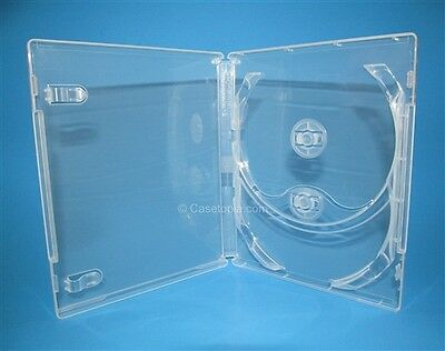 NEW! 5 Criterion Collection Double Blu-ray Replacement Cases Clear Holds 2 Discs