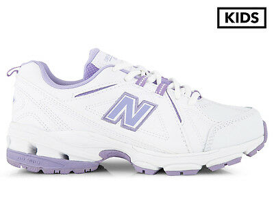 New Balance XT624 Pre/Grade-School Girl's Shoe - White/Purple
