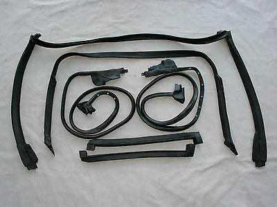 NEW 1984-1989 Corvette C4 Targa Coupe 7 Piece Weatherstrip Kit Free Shipping