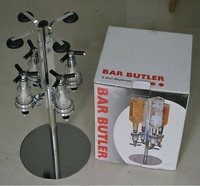 Bottles Rotary Stand Wine Liquor Drinks Dispenser Home Bar Butler ABS Material